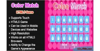 Match color html5 game