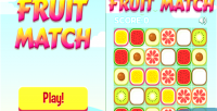 Match fruit game casual html5