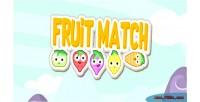 Match fruit html5 game