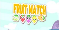 Match fruit html5 game