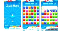 Match html5 game android capx admob match