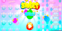 Match3 sweet html5 game