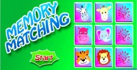 Matching animals game