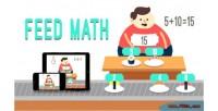 Math feed html5 game