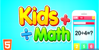 Math kids html5 game