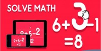 Math solve html5 game