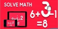 Math solve html5 game