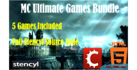Mc ultimate games bundle source stencyl html5