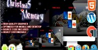 Memory christmas html5 game puzzle construct
