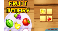 Memory fruit game memory html5