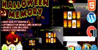 Memory halloween game construct html5