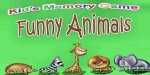 Memory kids animals funny game