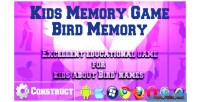 Memory kids memory birds game
