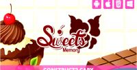 Memory sweet html5 capx game