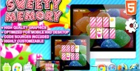 Memory sweety game html5 construct