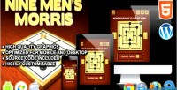 Men nine s game morris board html5