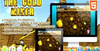 Miner gold html5 game