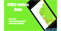 Mobile html5 platformer
