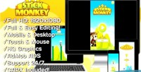 Monkey stick html5 game version mobile construct capx 2