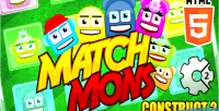 Mons match game match puzzle