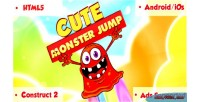 Monster cute game html5 jump