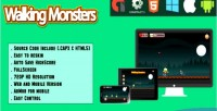 Monsters walking html5 game web mobile html capx