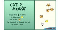 Mouse cat html game canvas 5