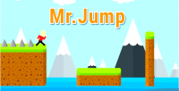 Mr jump construct 2 html5 ios android