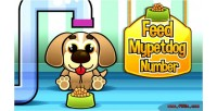 Mypetdog feed number game html5 educational