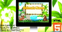 Name animals educational