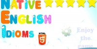 Native english idioms html5 game construct capx 2