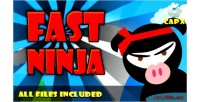 Ninja fast capx html game admobs