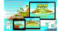 Ninja run html5 game mobile vesion admob construct capx 2