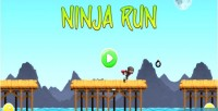 Ninja run html5 mobile capx game
