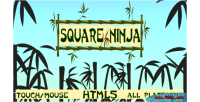 Ninja square html5 game