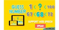 Number guess html5 game