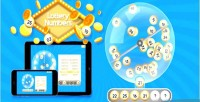 Numbers lottery html5 game