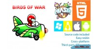 Of birds war phaser game html5