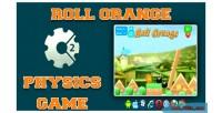 Orange roll game physics html5