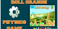 Orange roll game physics html5