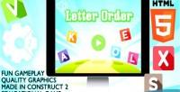 Order letter educational