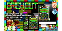Out brick game arcade html5