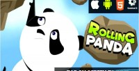 Panda rolling html5 capx game