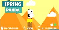 Panda spring html5 game