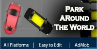 Parking around the world game parking html5