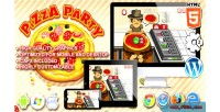 Party pizza game construct html5