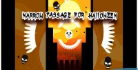 Passage narrow for game html5 halloween