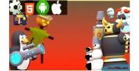 Penguin combat html5 game version mobile construct capx 2