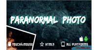 Photo paranormal game mobile html5
