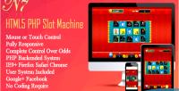 Php html5 slot machine
